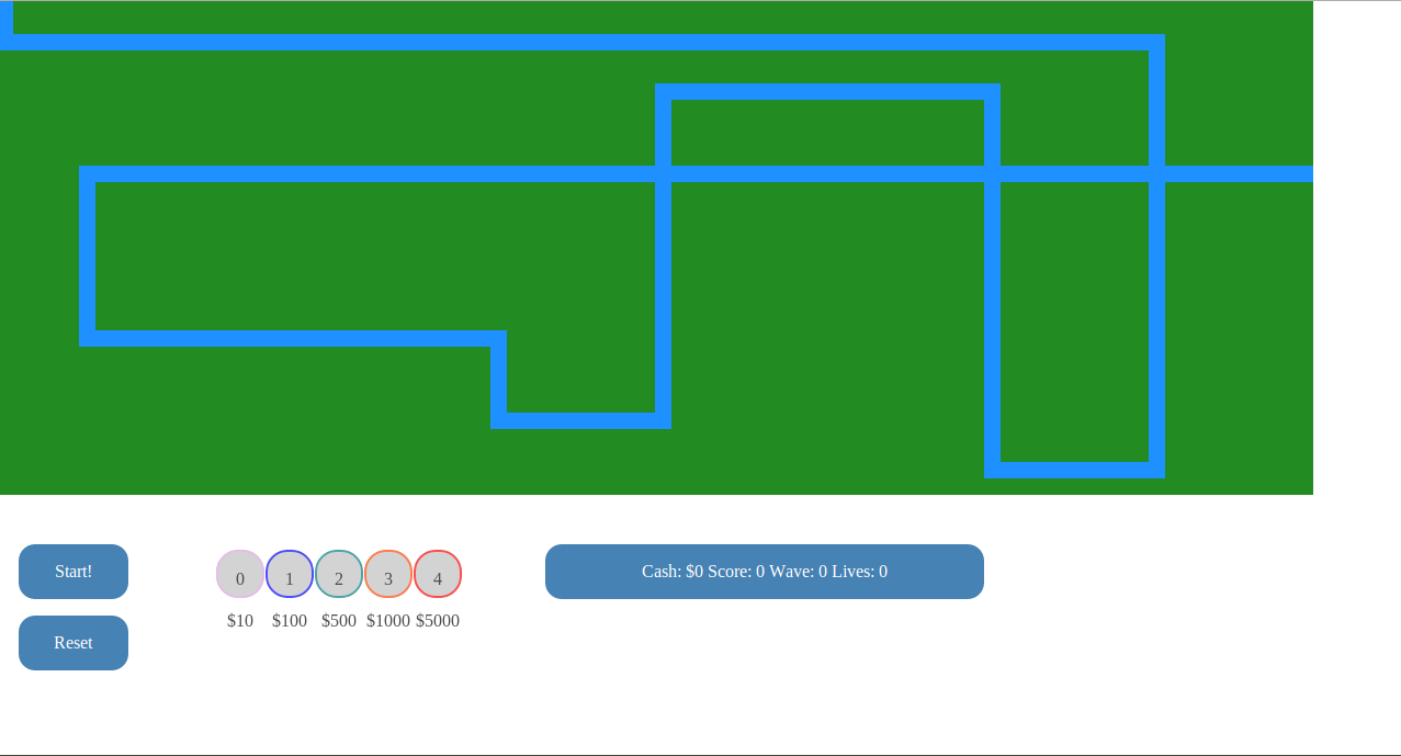 A Simple Tower Defense Game in Javascript | Coding Arterial